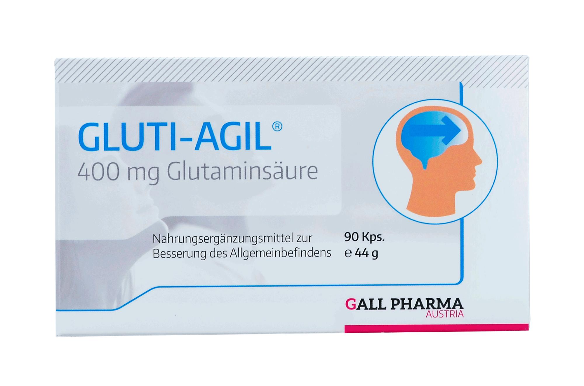 Gluti-Agil® Mono 400 mg Kapseln